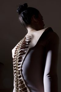 Nude Spine Dress