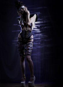 Shibari Skirt, Photographer: Rob Voodoo, Makeup: Stefanija Vektere, Hair: Anna Romanenkova