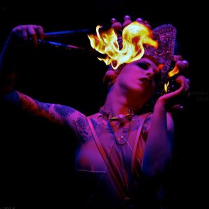 Fire Eater - Missy Macabre  http://missymacabre.blogspot.co.uk/